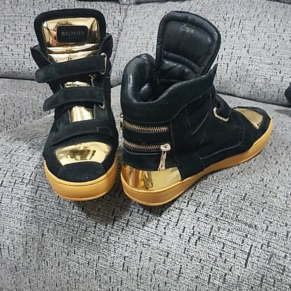 a7f568967d5 Balmain Shoes | Paris Sneakers 2310 Size 12 | Poshmark